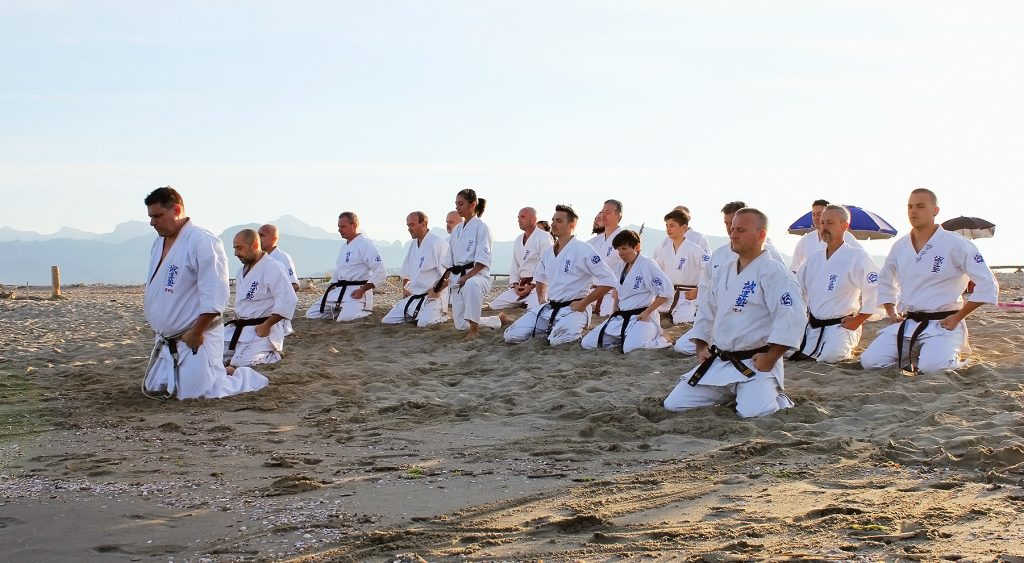 Beach training - Seido Italy