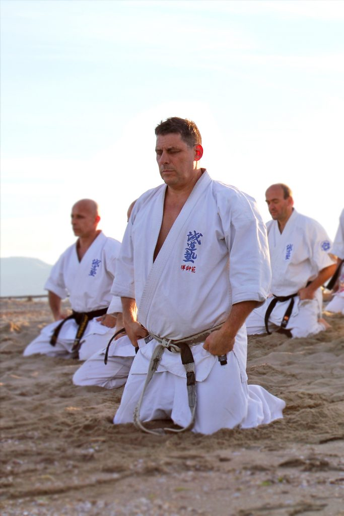 Beach training - Jun Shihan Vincent