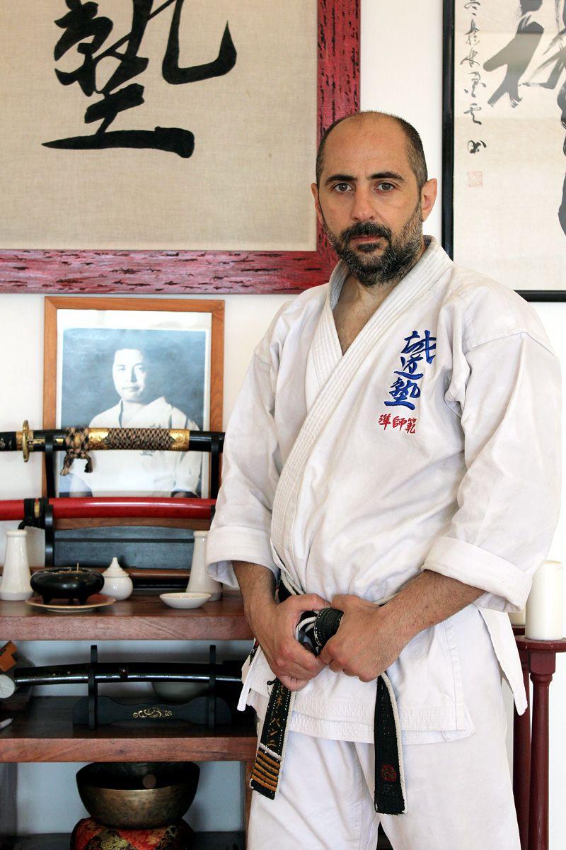 Jun Shihan Simone Seido Karate Italy