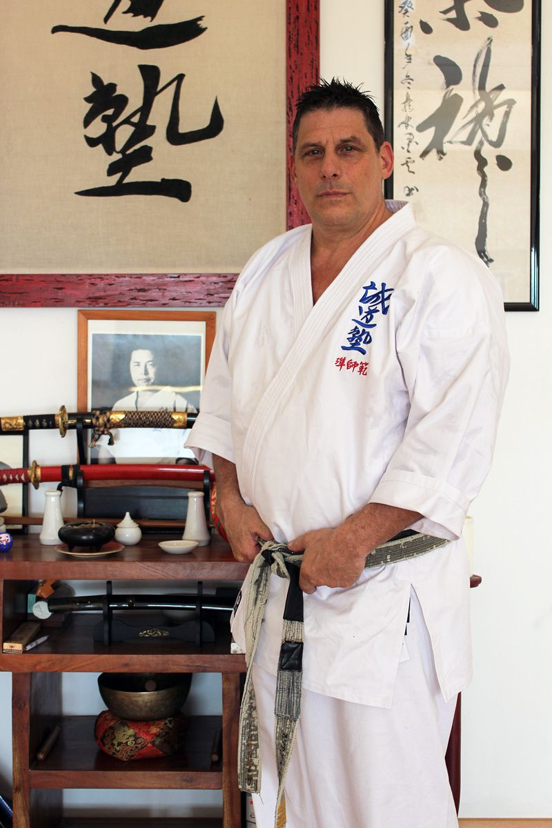 Jun Shihan Vincent Seido Karate Italy