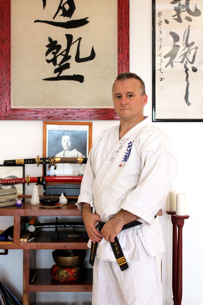 Sensei Giorgio Seido Karate Italy