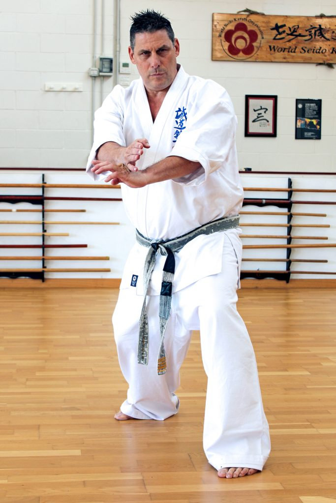 Jun Shihan Vincent - Seido Karate Italy