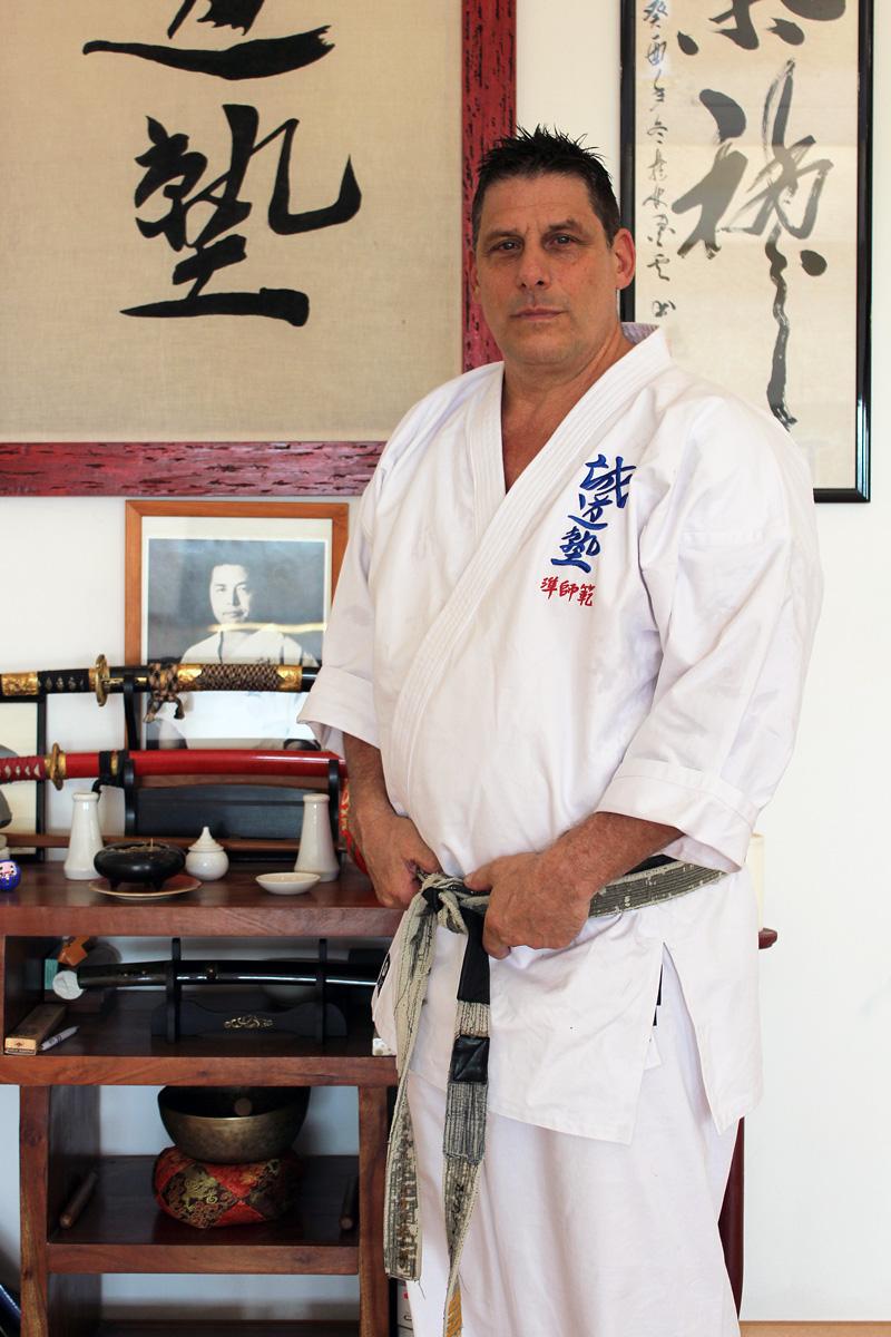 Jun Shihan Vincent - Seido Karate Italy