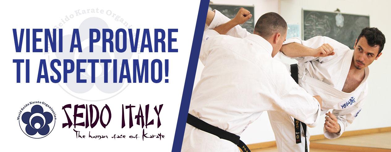 Lezione di prova Karate in Sesto Fiorentino