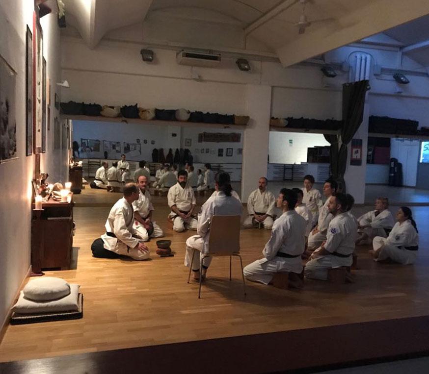 Meditazione Zen Seido Italy Karate
