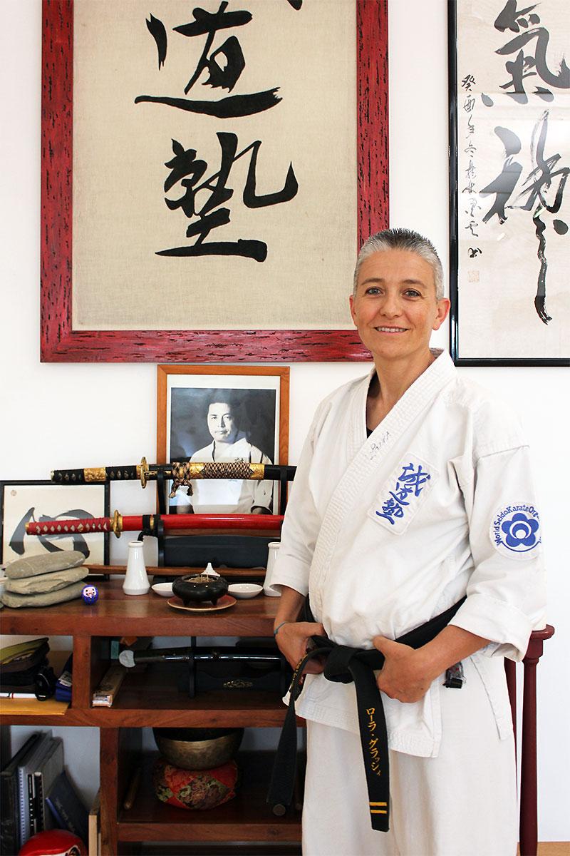 Senpai Laura - Seido Karate Italy